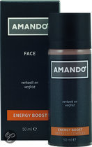 Amando Face Energy Boost for Men - 50 ml - Aftershave balsem