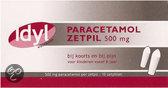 Idyl Paracetamol ZP 500mg AV 10 st