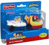 Fisher-Price Little People Wheelies Vliegtuigen