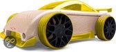 Automoblox: Mini C9-R Sportscar - Geel