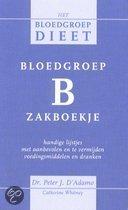 Bloedgroep B zakboekje D'Adamo, P.