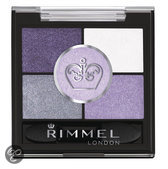 Rimmel London Glam'Eyes HD Pentad Eyeshadow - 025 Purple - Paars - Oogschaduw
