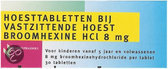 Healthypharm Broomhexine Hoest 8mg