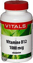 Vitals Vitamine B12 1000 mcg - 100 tabletten