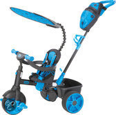 Little Tikes 4-in-1 - Driewieler - Deluxe Edition- Neon Blue