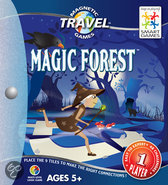 Smart Games Magnetic Travel Het Magische Bos - Reiseditie