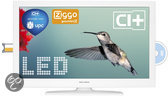 Salora 26LED7115CDW - LED TV-/Dvd-combo - 26 inch -  HD Ready