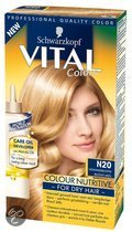 Schwarzkopf Vital Colours Royal Jelly - 20 Honing Blond - Haarkleuring