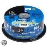 Intenso DVD+R 8.5GB 8x Double Layer 25er Cakebox