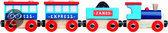 Trein Janod Express magnetisch