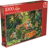 Jumbo Jungle Tigers - Puzzel - 1000 stukjes