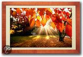 FrameXX HOME2 - Luxe 32 inch digitale fotolijst - Design Cherry