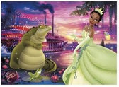 Disney Princess &amp  frog kikker puzzel 60 stukjes