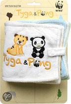WWF Tyga & Pong Boek - 17 cm