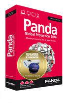Panda Global Protection 2014 - Nederlands / Frans / 3 Gebruikers / Gratis Speaker+ Car Adapter