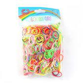 Loomfun Loom Bands Elastiekjes - Mixed Color - 600 Stuks