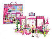 Mega bloks Barbie: dierenwinkel 98-delig