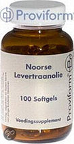 Proviform Noorse Levertraanolie - 100 Softgels