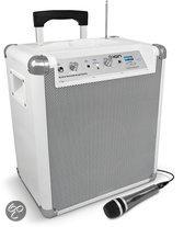 ION Block Rocker Bluetooth draagbaar geluidssysteem - wit