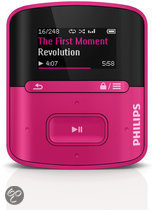 Philips GoGear Raga - MP3 speler - 4 GB - Roze