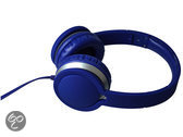 Maxell Super Style Headphone With Built In Mic Blauw MXH-HP201