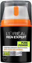 Men Expert Pure Power Hydraterende Creme - 50ml - Dagcreme