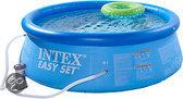 Intex Easy Set Opblaasbaar Zwembad - 305x76 cm + 12V Filterpomp
