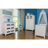 Babykamer Gaby wit 2-deurs kast
