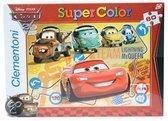 Clementoni Cars 2 puzzel 60 stukjes team