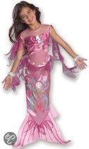 Roze zeemeermin kostuum kinderen 3-4 jaar (s)