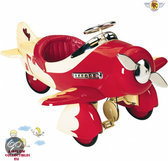 Airflow Trapauto sport racer plane rood