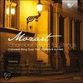Mozart - Kamermuziek voor strijkers (compleet) (12CD)