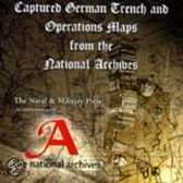 Captured German Trench And Operations Maps From The Public Record Office Archive
