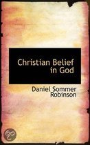 Christian Belief in God