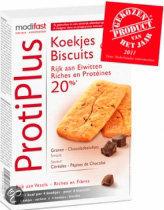 Modifast ProtiPlus Koekjesbiscuit met Chocoladestukjes - 16 stuks - Snack