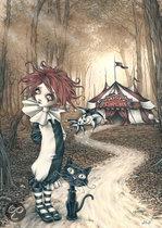 Heye Puzzel - Victoria Francés: Misty Circus - Tent