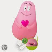 Barbapapa LED Lumilove nachtlampje - USB - roze