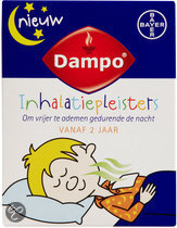 Dampo Inhalatiepleisters - 6 Pleisters