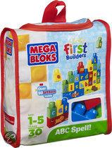 Mega Bloks First Builders ABC Leren Spellen