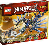 LEGO Ninjago Lightning Dragon Battle - 2521