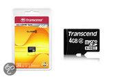 Transcend microSDHC-kaart 4 GB