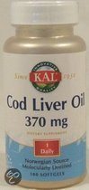 Kal Cod Liver Oil - 100 softgels