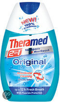 Theramed 2 in 1 Original - 75 ml - Tandpasta