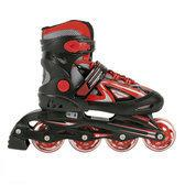 Inline Skates 38-41 Zwart/Rood