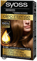 SYOSS Color Oleo Intense 5-86 Lichtbruin - Haarkleuring