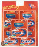 Gillette Fusion Manual Scheermesjes - 20 stuks - Voordeelverpakking