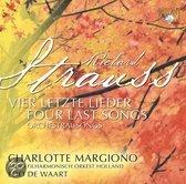 Richard Strauss - 4 letzte Lieder; Orkestliederen (CD)