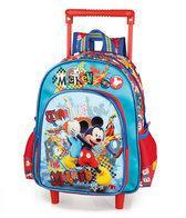 Mickey Mouse junior rugtas met trolley