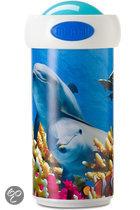 Dolfijn Schoolbeker