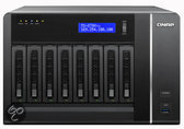 QNAP TS-879 Pro Turbo NAS-server - 8 bays / Zwart